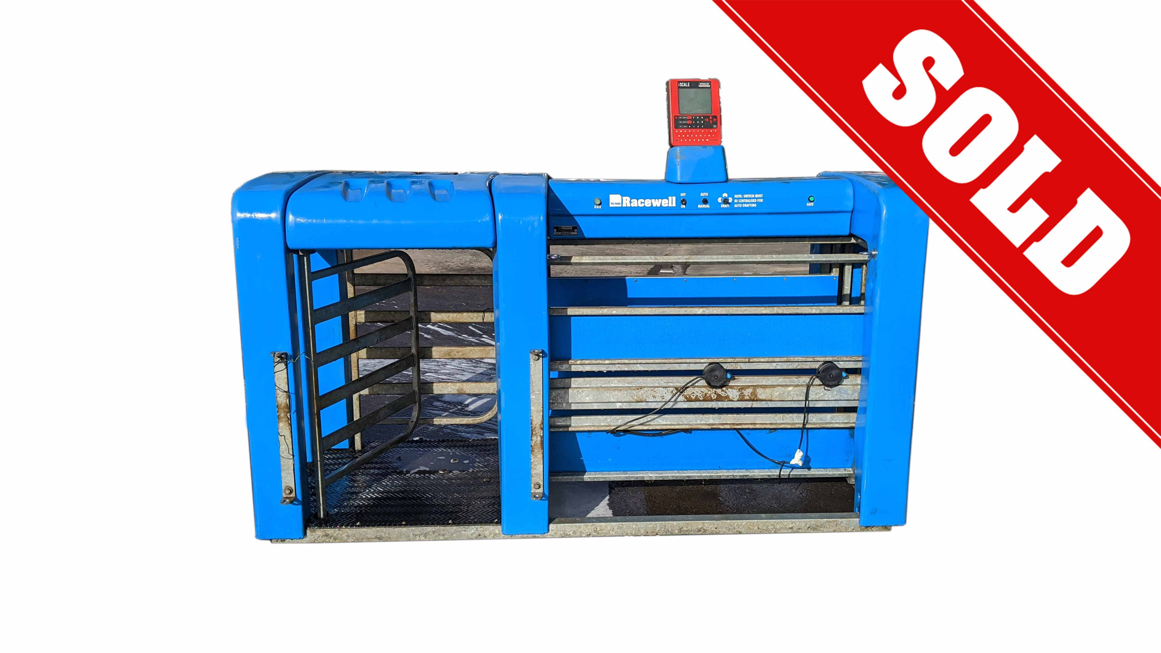 Used 3-Way Auto Sheep Drafter