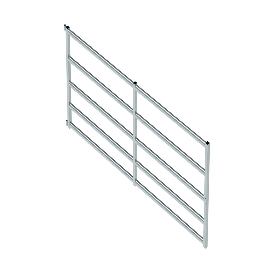 Cattle Gate 5 Rail (3100mm x 1320mm High)