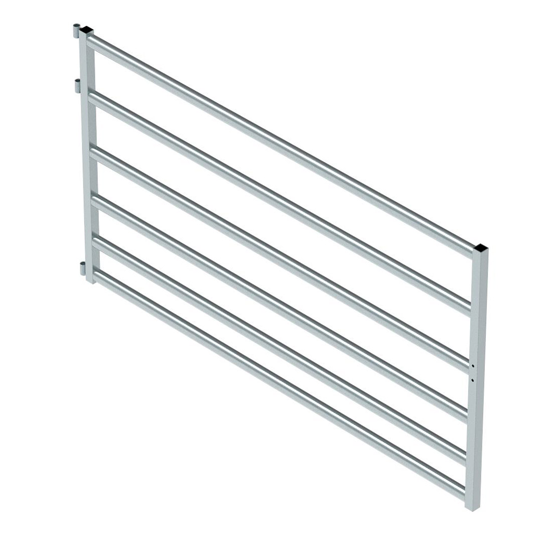 Cattle Yard Gate 6 Rail (2500mm x 1400mm High)