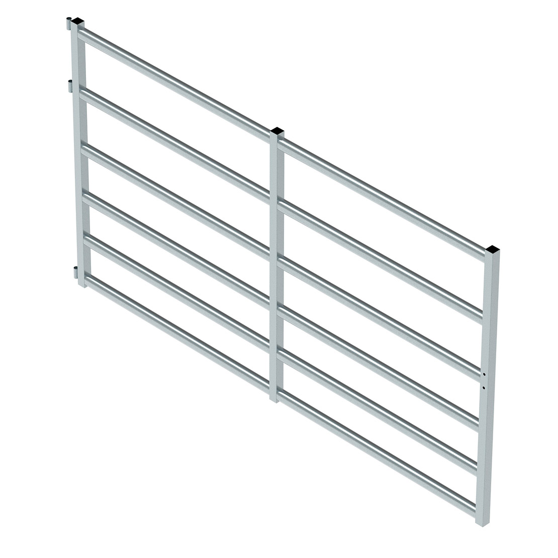 Cattle Gate 6 Rail (2800mm x 1580mm High)