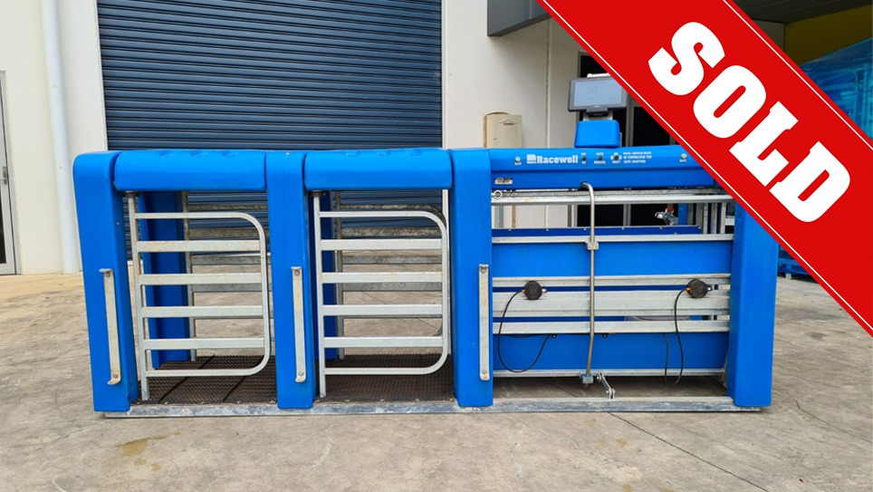 Used Racewell DR5 Sheep Auto Drafter