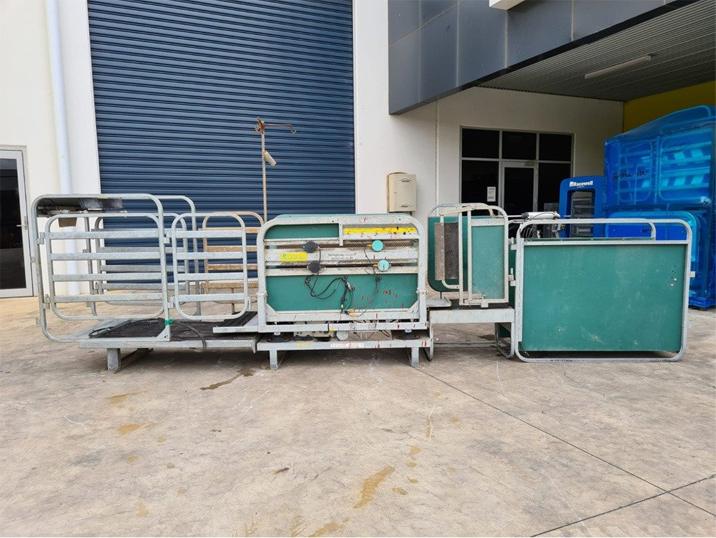 Used Racewell HD3 Sheep Handler