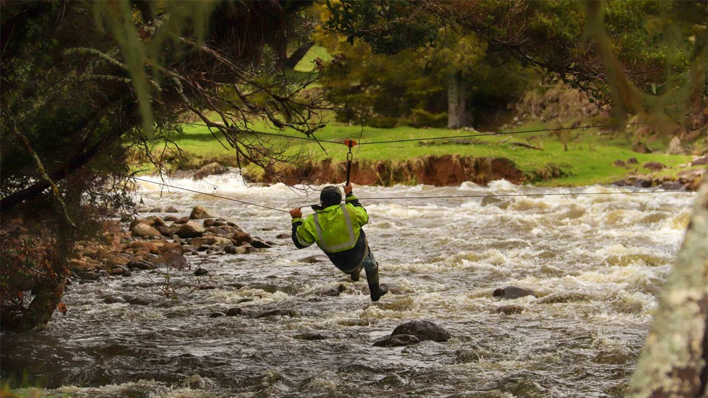best photos of 2020 ian webb crossing a flooded river
