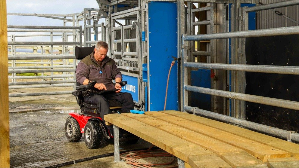 best photos of 2020 martin pedal in his farming wheelchair