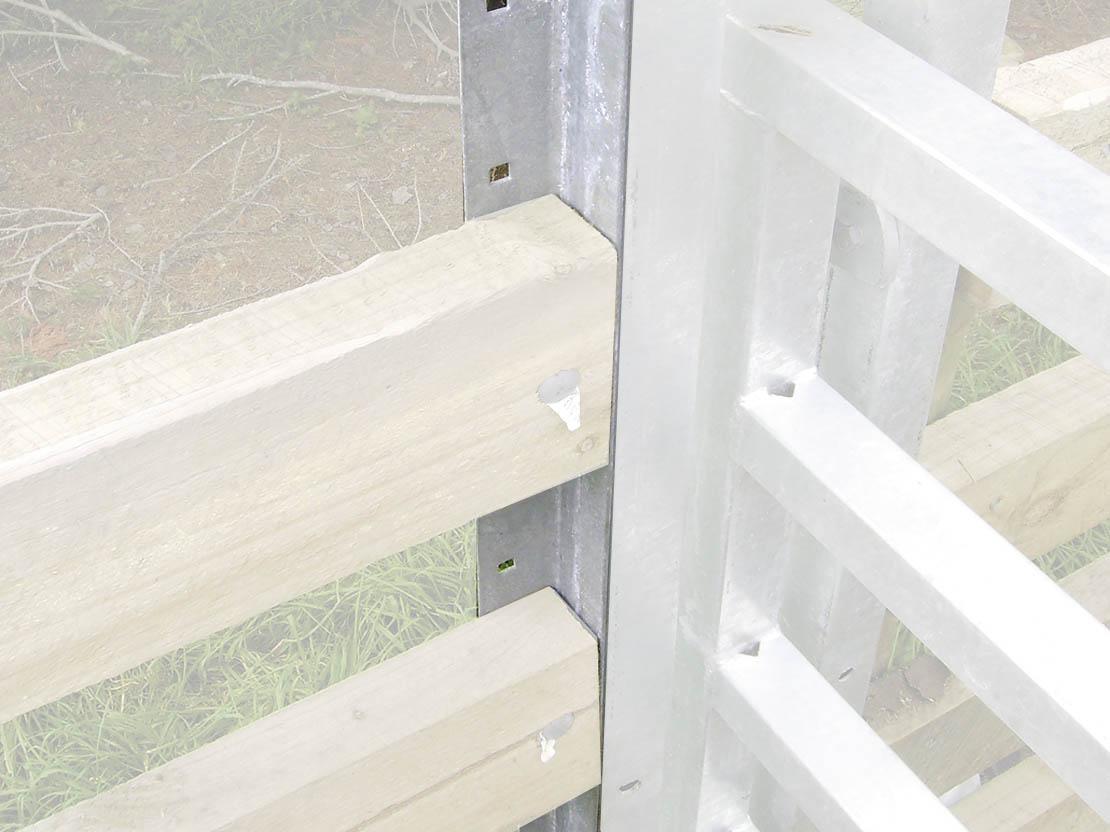 Rail Mounting Angle bracket (each)