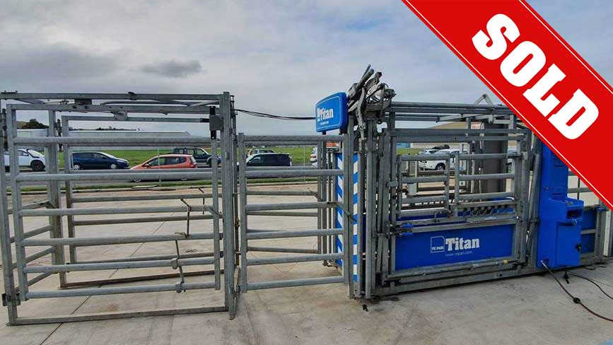 Used Titan Auto Drafting Cattle Crush