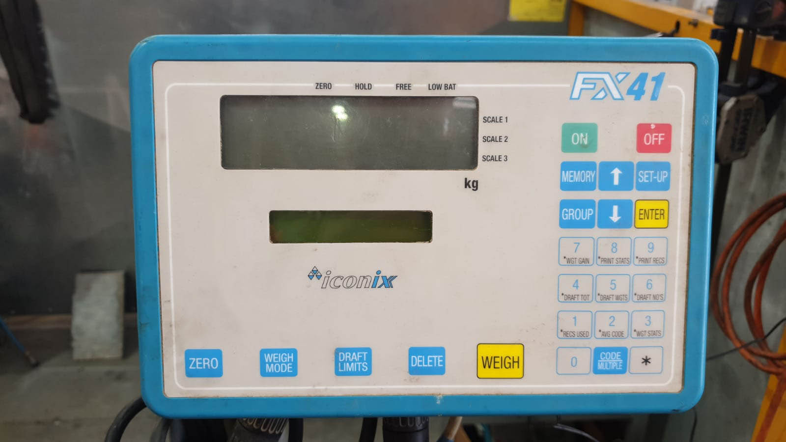 Used Racewell HD3 with Iconix Weigh Scale