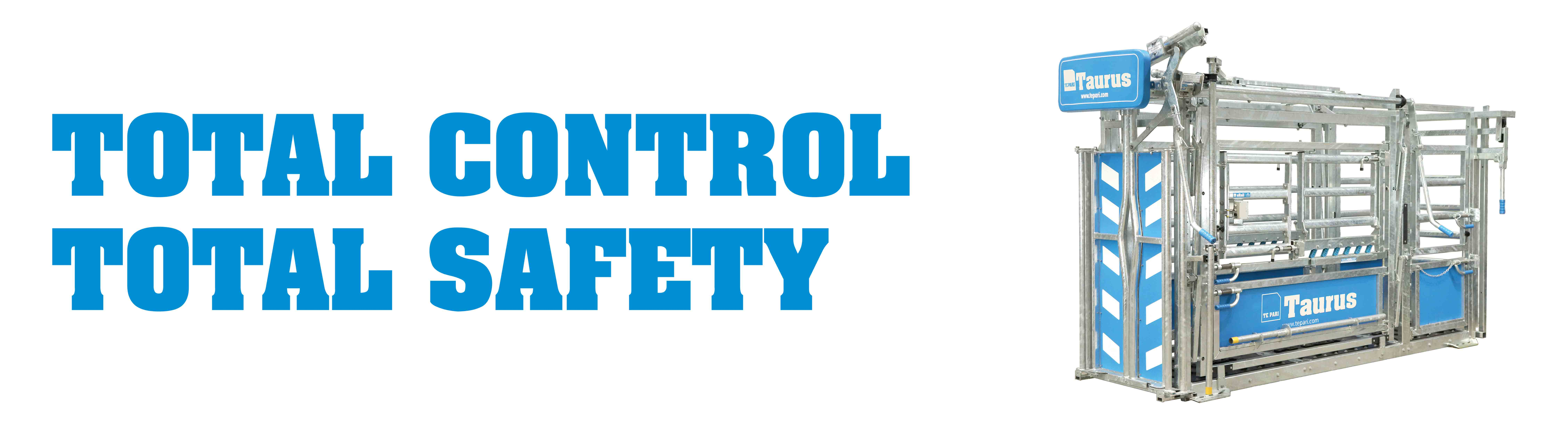 total control & total safety te pari cattle crushes