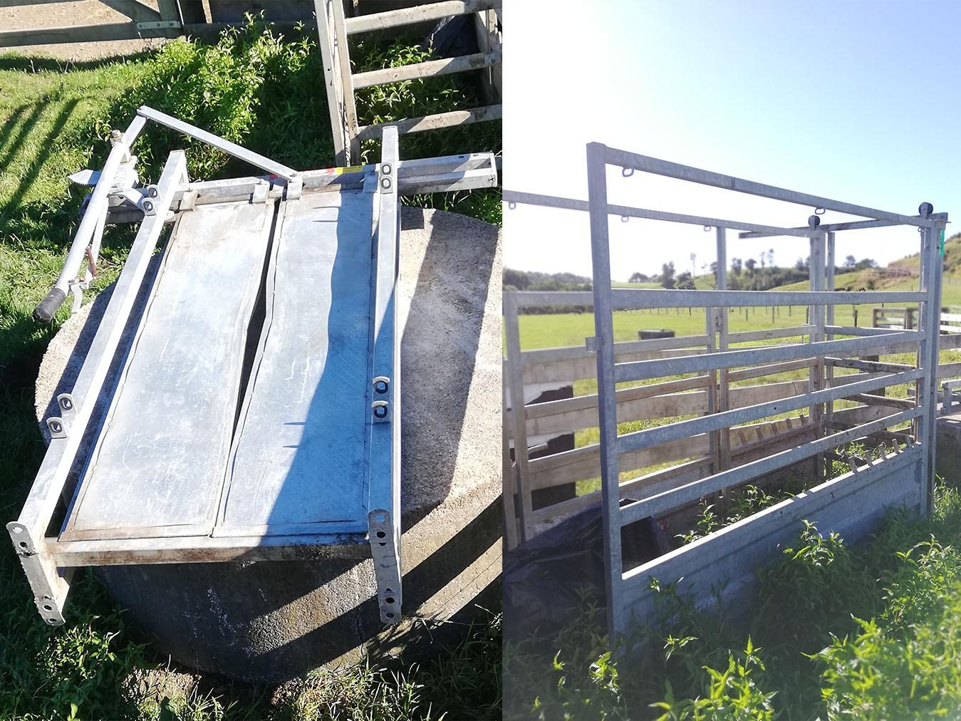 Used Farmquip Cattle Crush
